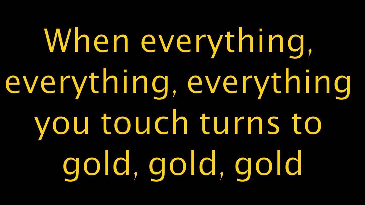 imagine dragons gold lyrics video