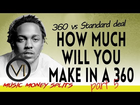 Ep 64  Record Deals: Money Splits 5  360 Deals Vs Joint Venture Deals Vs Traditional Deals
