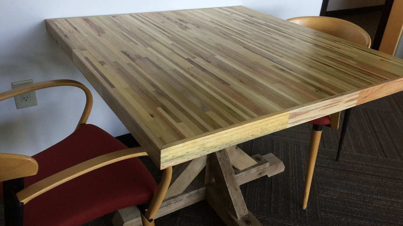 Office Meeting Table From Pallets