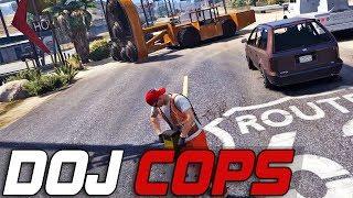 Dept. of Justice Cops #186 - Elaborate Fleeca Heist (Criminal)
