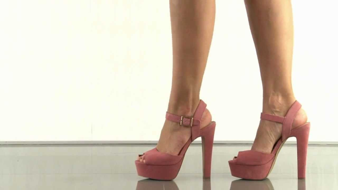 109ebe444d0 Steve Madden Dynemite in Coral Suede - YouTube