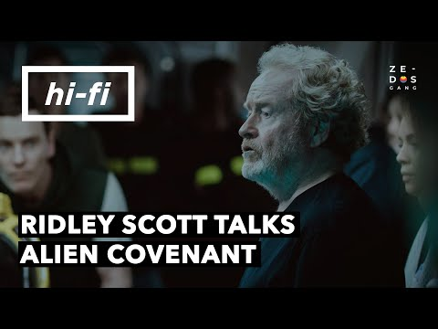Ridley Scott Talks About Alien Covenant