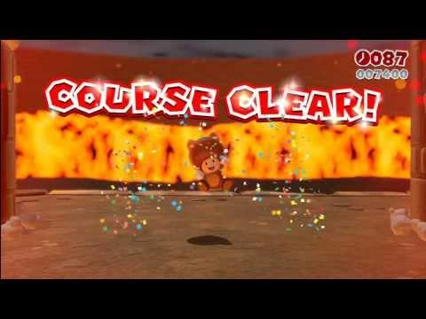 Super Mario 3D World - World 5-B Fire Bros. Hideout #2