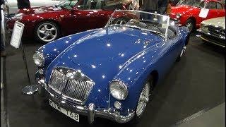 1957 MG MGA 1500 Roadster - Exterior and Interior - Bremen Classic Motor Show 2019