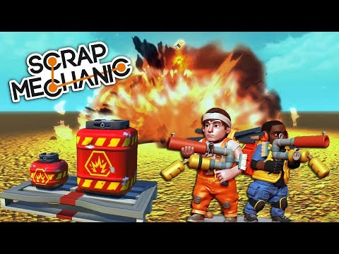 zbrane-a-vybuchy-scrap-mechanic-update