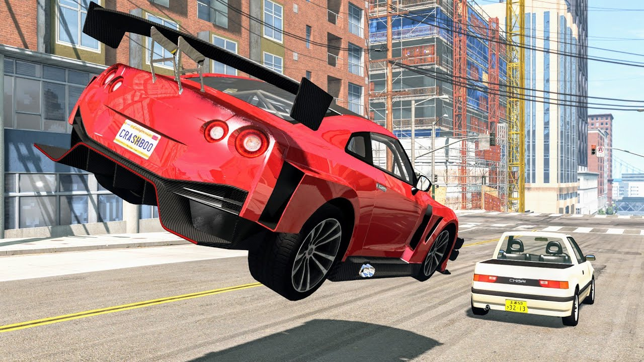 Download High Speed Traffic Crashes #76 - BeamNG Drive | CrashBoomPunk