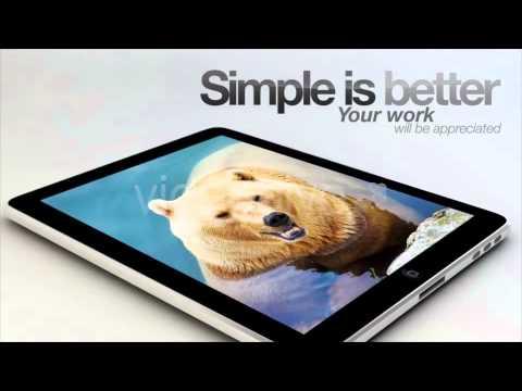 Apple Motion Templates iPad Slide VideoHive
