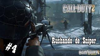 CALL OF DUTY 2 - SAINDO PELO CANO - PARTE 4