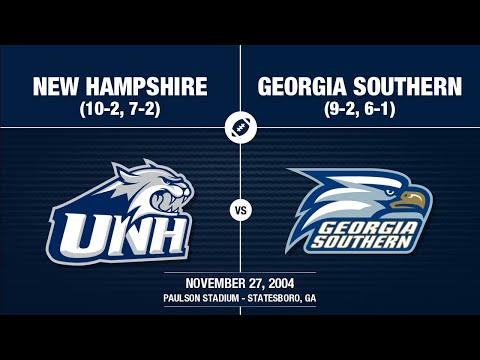 2004 Week 13 - New Hampshire at Georgia Southern
