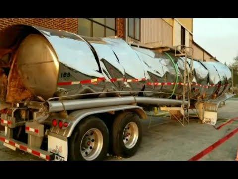 Liquid Wax Tanker Implosion