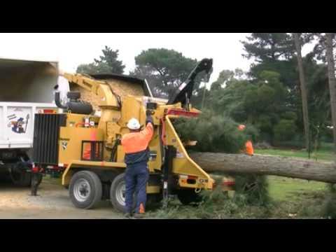Vermeer BC2100XL Brush Chipper FISRT in australia vic 3