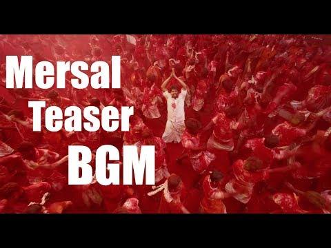 Mersal - Teaser BGM | Vijay, Samantha, Kajal | A R Rahman | Atlee