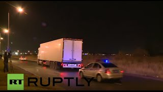 Russia: First bodies of flight 7K9268 crash victims arrive in St. Petersburg