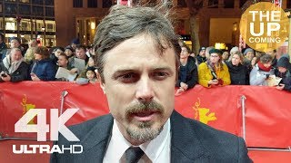 Casey Affleck On Light Of My Life, Elisabeth Moss, Anna Pniwosky At Premiere Berlin Film Festival