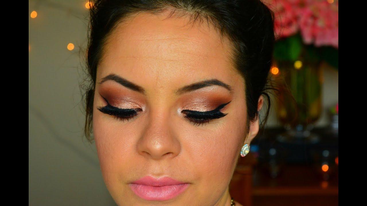 Maquillaje Perfecto Para Fiestas De Dia A Noche Youtube - Maquillaje-para-eventos