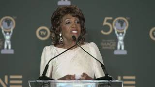 Maxine Waters - Honoree - 2019 NAACP Image Awards - Full Backstage Interview