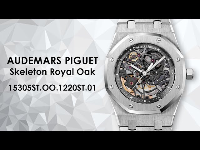 Audemars Piguet Skeleton Royal Oak Selfwinding 15305ST.OO.1220ST.01  Stainless Steel Watch BWB