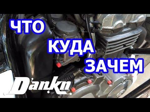ЧТО КУДА ЗАЧЕМ Honda CB400
