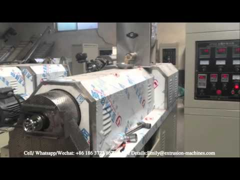 Commercial Fish Feed Extruder Machine    Can Make Dry Floating Fish Feed