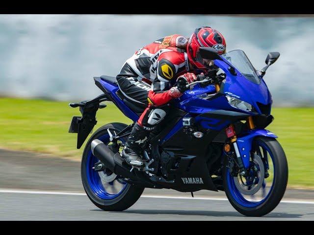 【最高速】ヤマハ YZF-R25(2019年モデル)で、大関さおりが最高速チャレンジ!