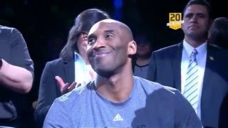 Kobe Bryant Tribute by San Antonio Spurs - 02/06/2016