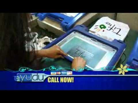 Custom T Shirts Yudu Screenprinting Machine Youtube