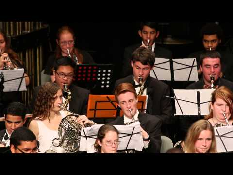 United States Armed Forces Anthem Medley. Broward All County Band. Spring 2015.
