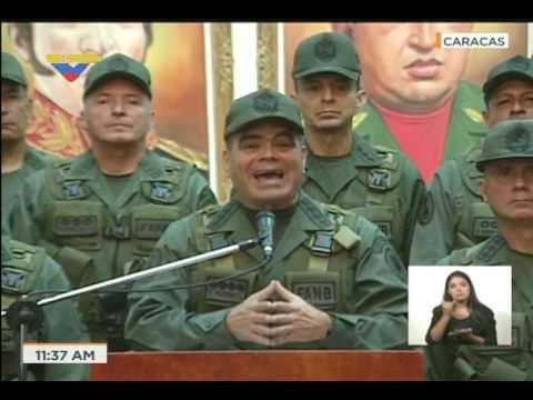 Vladimir Padrino: La FANB repudia injerencismo de Donald Trump contra Venezuela