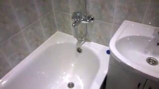 Ремонт ванной в Хрущевке. Repair the old bathroom.