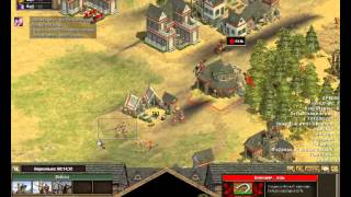 Rise of Nations - Thrones and Patriots))игрем с lSho0terl по сети ч1