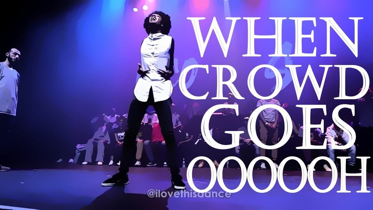 When Crowd Goes OOOOOH | I Love This Dance Edition | Part 1