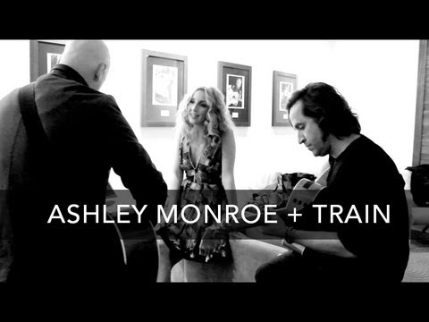 Ashley Monroe and Train performing