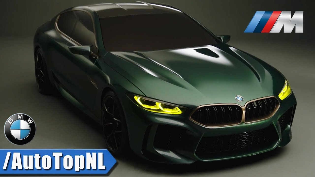 2020 Bmw M8 Gran Coupe Concept In Detail Amg Gt 63 S Panamera Turbo