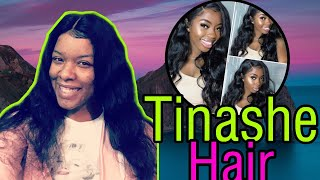 Watch How I Install My 360° Body Wave Lace Frontal Ft. Tinashe Hair