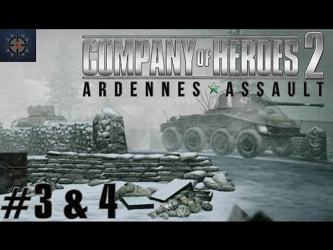Company Of Heroes 2 Ardennes Assault Mission 3 4 Hd Guide
