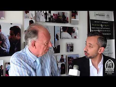 Dr. Hisham Safadi interview with RAK Media Office about RAK Seaside Startup Summit 2018