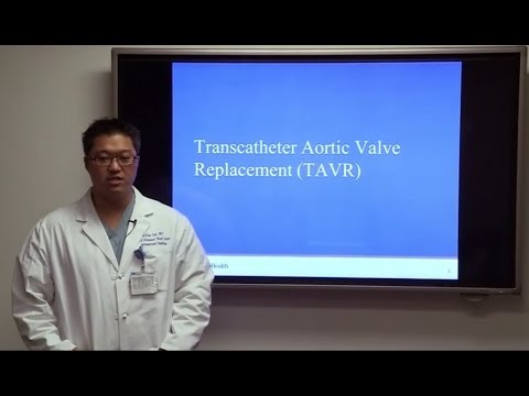 What is Transcatheter Aortic Valve Replacement (TAVR)? #UCLAMDChat | William Suh, MD