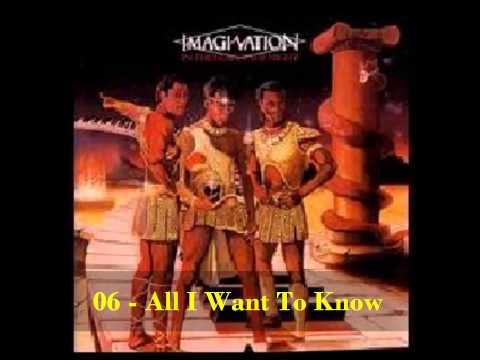 IMAGINATION-IN THE HEAT OF THE NIGHT-1981-full album-HD