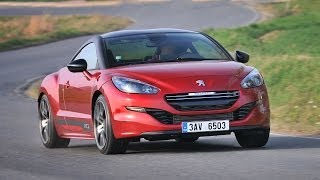Peugeot RCZ R 2014 - test driving moments
