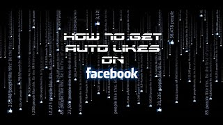 Repeat youtube video How To Get Auto Likes On Facebook Photos - 2016