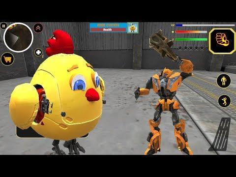 Robot City Battle | Naxeex | Chicken BOSS Android Gameplay HD