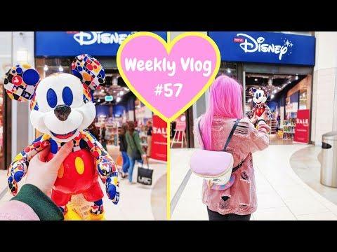 Weekly Vlog #57   I got the March Mickey Memories Plush & Primark Disney shopping!