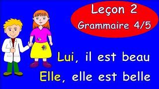 2 Урок французского. Грамматика 4/5. Ударные местоимения #французскийязык