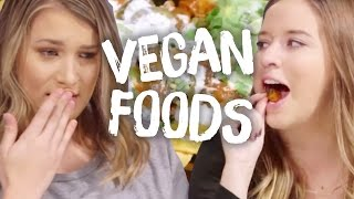 9 Vegan Foods Tasted For The First Time (Cheat Day)