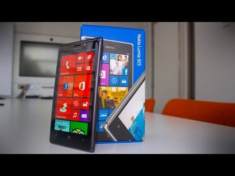 Nokia Lumia 925 Unboxing and Hands On - 32GB Black