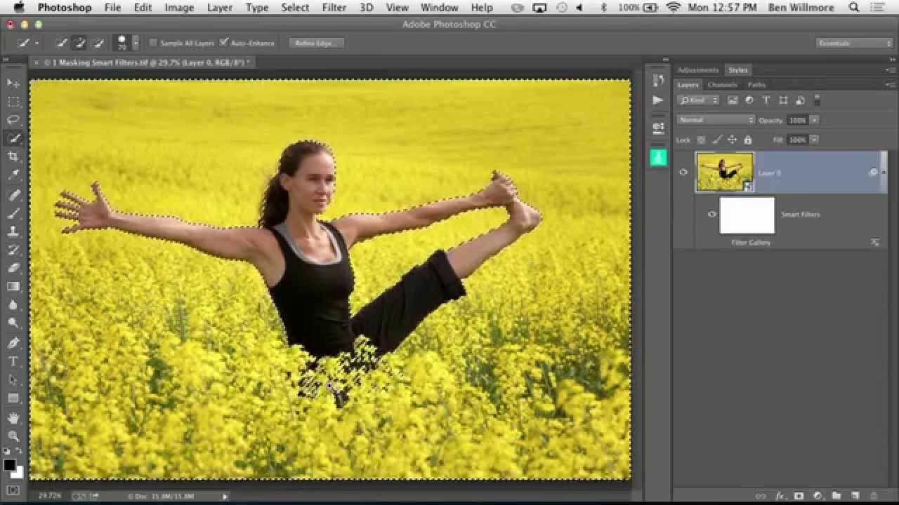 Photoshop art how to make a photograph look like a for Make a photo look like a painting