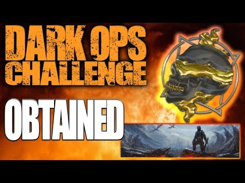 """How To Get The """"Obtained"""" Dark Ops Challenge (Black Ops 4 Multiplayer Dark Ops Challenges)"""