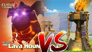 Clash Of Clans - LAVA HOUNDS W/ CLONE SPELLS!!! (Mass raid against TH11 NEW UPDATED)