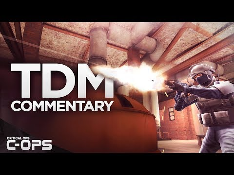Critical Ops - Full Team Deathmatch Round ft. Mr. Bates! C-OPS 51-8 Score