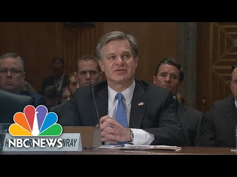 FBI Chief Says Threats From Cybser Security, Drones \'Steadily Increasing\' | NBC News